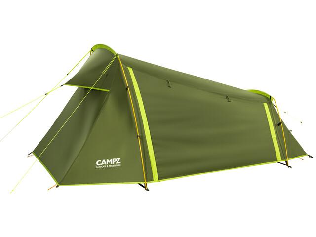 CAMPZ Torreilles 2P Teltta, green/olive